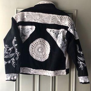 Head turner oversized 80's vtg jean jacket